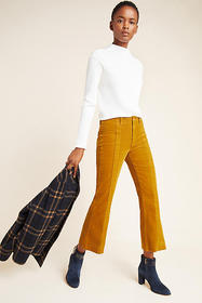 Anthropologie AG The Quinne High-Rise Paneled Crop