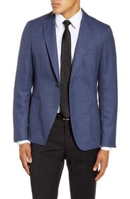 BOSS Nold Trim Fit Wool Sport Coat