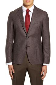 BOSS Nold Trim Fit Houndstooth Wool Sport Coat