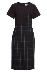 BOSS Dedani Windowpane Sheath Dress
