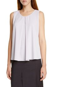 BOSS Ibuno Front Pleat Sleeveless Top