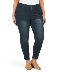 ROYALTY Plus Curvy Skinny Fit High Rise Jeans