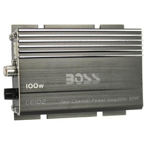 New BOSS CE102 100 Watt 2 Channel Mini Car/Motorcy