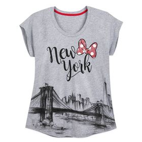 Disney Minnie Mouse New York City Skyline T-Shirt
