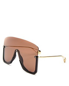 Gucci - Men's Oversized Shield Sunglasses, 150mm