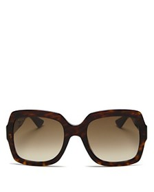 Gucci - Women's Oversized Gradient Square Sunglass