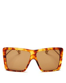 Gucci - Women's Flat Top Square Sunglasses, 61mm