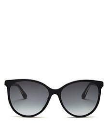 Gucci - Women's Cat Eye Sunglasses, 57 mm