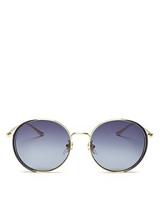 Gucci - Women's Oversized Round Sunglasses, 56mm
