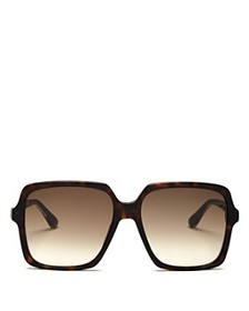 Gucci - Women's Web Oversized Square Sunglasses, 5