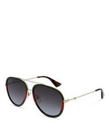 Gucci - Men's Aviator Sunglasses, 57mm