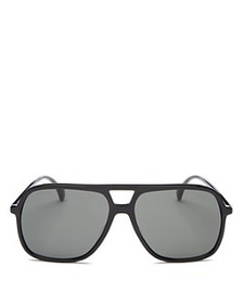 Gucci - Men's Brow Bar Aviator Sunglasses, 58mm