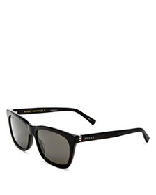 Gucci - Men's Polarized Square Sunglasses, 56mm