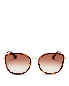 Gucci - Women's Cat Eye Sunglasses, 56mm