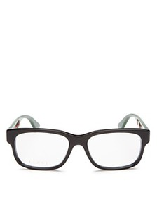 Gucci - Men's Rectangle Optical Glasses, 57mm