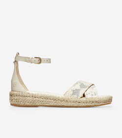 Cole Haan Cloudfeel Espadrille Ankle Strap Sandal
