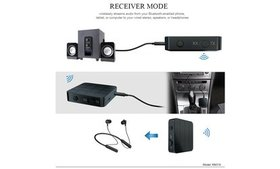 2-in-1 Bluetooth 5.0 Transmitter and Receiver Wire