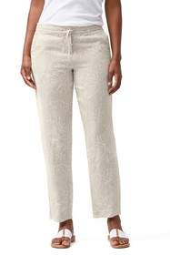 Tommy Bahama Ombra Blossoms Tapered Linen Pants