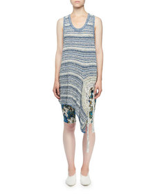 Stella McCartney Chunky Textured-Stitch Racerback