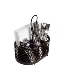 Mikasa Rope Napkin and Flatware Storage Caddy