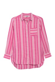 Tommy Bahama Stef Striped Tunic Shirt