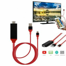Lightning to HDMI Digital AV TV Cable,Compatible w
