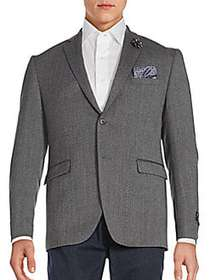 Two-Button Jacket GREY