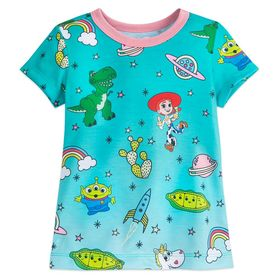 Disney Toy Story Ringer T-Shirt for Girls