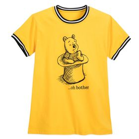 Disney Winnie the Pooh Striped Ringer T-Shirt for