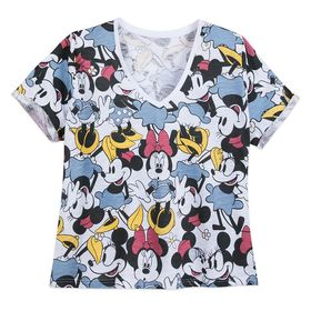 Disney Minnie Mouse V-Neck T-Shirt for Women – Ext
