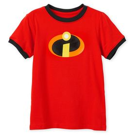 Disney Incredibles Logo Ringer T-Shirt for Kids