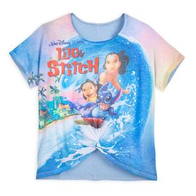Disney Lilo & Stitch VHS Case Fashion T-Shirt for