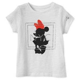 Disney Minnie Mouse Jeweled T-Shirt for Girls – Ne