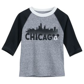 Disney Mickey Mouse Chicago Raglan Shirt for Boys
