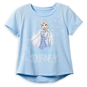 Disney Elsa ''Trust Your Journey'' T-Shirt for Gir