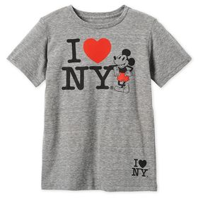 Disney Mickey Mouse I♥New York T-Shirt for Boys –