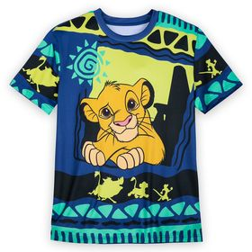 Disney Simba Synthetic T-Shirt for Men – The Lion