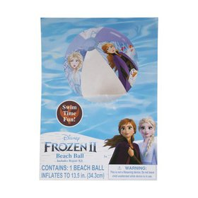 Frozen 2 Anna Elsa Olaf Inflatable Beach Ball 13.5