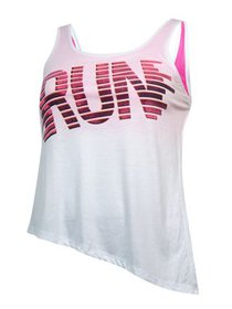 Energie Juniors Run Asymmetrical-Hem Tank