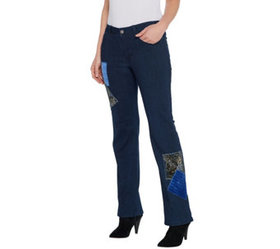 """As Is"" Women with Control My Wonder Denim Petite"