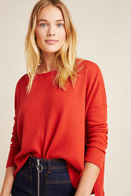 Anthropologie Nori Waffle Pullover