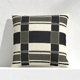 Crate Barrel Mohave Plaid 20
