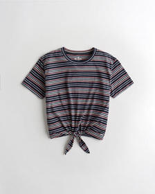 Hollister Must-Have Classic T-Shirt, NAVY STRIPE