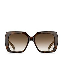 Marc Jacobs 53MM Square Sunglasses BROWN