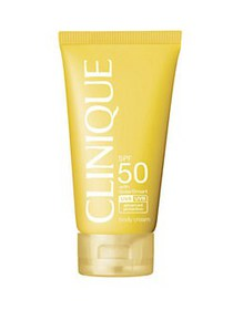 Clinique Sun SPF 50 Body Cream NO COLOR