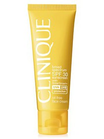 Clinique Broad Spectrum Oil-Free Face Sunscreen NO