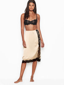 Victoria Secret Side-button Slip Skirt