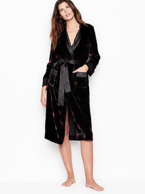Victoria Secret Long Velvet Robe