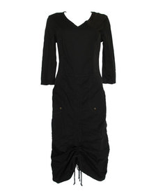 XCVI Bran Ruched-Front Dress