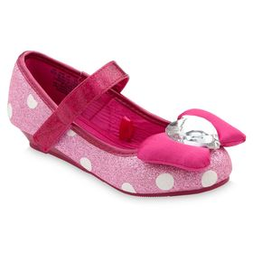 Disney Minnie Mouse Costume Shoes for Kids – Pink